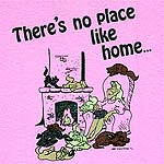 There's no place like home...
